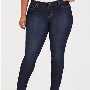 Torrid Straight Dark wash Jeans